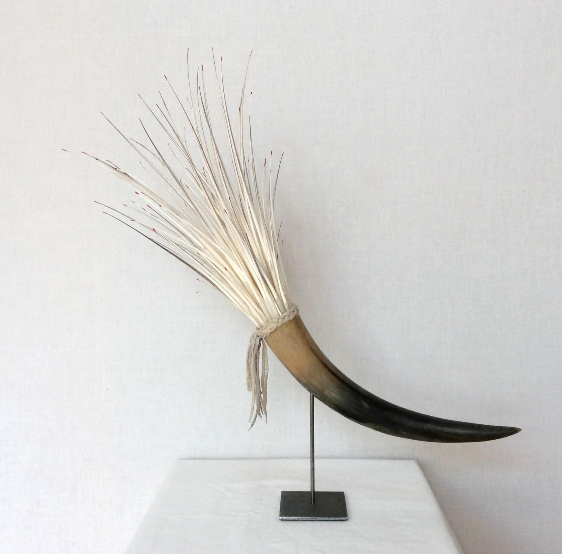 Objekt Höhe: 0,55 m Horn / Federkiel (2019)